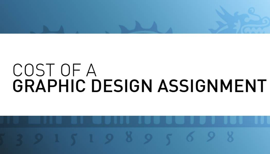 cost of graphic design assignment