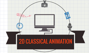 2 D Classical Animation Courses in Delhi
