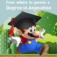 From where to pursue a Degree in Animation