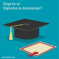 Degree or Diploma in Animation? www.tgcindia.com