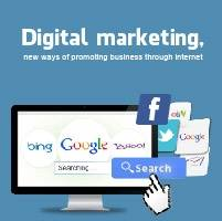 Digital marketing, new ways of promoting business through internet