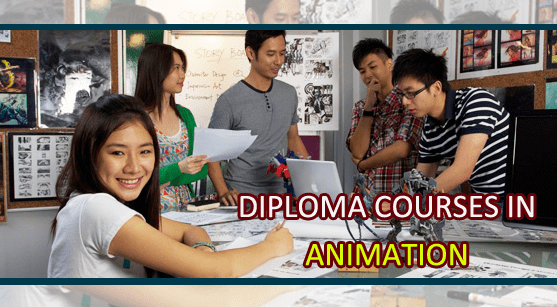 diploma courses in animation
