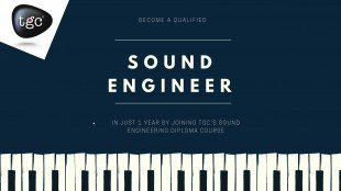Become a qualified Sound Engineer in just 1 year by joining TGC's Sound Engineering Diploma course 1